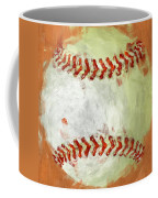 Abstract Baseball Coffee Mug
