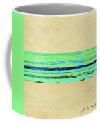 Abstract Beach Landscape  Coffee Mug