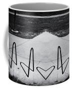 Abstract Bike Rack Coffee Mug