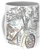 Abstract Bikes Coffee Mug