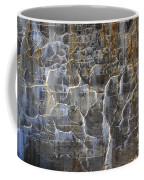 Abstract Bleeding Concrete Coffee Mug