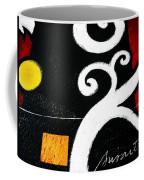 Abstract Blooms Coffee Mug by Pristine Cartera Turkus