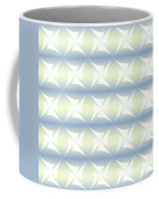 Abstract Blue And White Background Coffee Mug