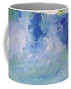 Abstract Blue Reflection Coffee Mug