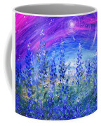 Abstract Bluebonnets Coffee Mug