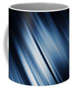 Abstract Blurred Dark Blue  Background Coffee Mug