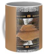 Abstract Bridge Over Road Coffee Mug