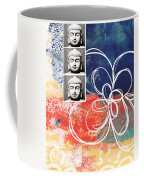 Abstract Buddha Coffee Mug
