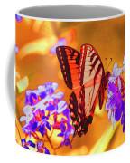Abstract Butterfly Coffee Mug