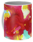 Abstract Butterfly Floral Coffee Mug