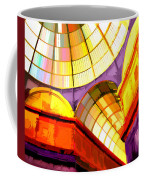 Abstract Cathedral Color Wheel Coffee Mug