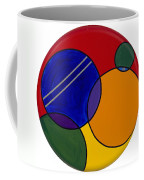 Abstract Circle 3 Coffee Mug