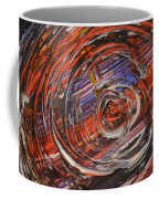 Abstract- Circle Coffee Mug