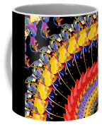 Abstract Collage Of Colors Coffee Mug