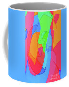 Abstract Color Block  Coffee Mug
