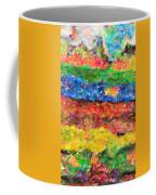 Abstract Color Combination Series - No 8 Coffee Mug