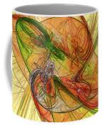 Abstract Color Swirls Coffee Mug