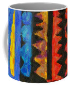 Abstract Combination Of Colors No 5 Coffee Mug