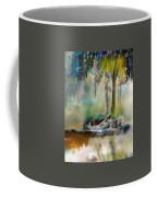 Abstract Contemporary Art Titled Humanity And Natures Gift By Todd Krasovetz  Coffee Mug