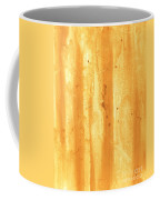 Abstract Contemporary Golden Yellow Painting Vibrant And Bold Yellow Gold By Madart Coffee Mug