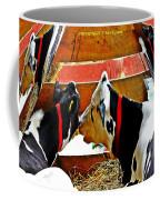 Abstract Cows Coffee Mug