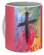 Abstract Cross Coffee Mug