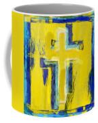 Abstract Crosses Coffee Mug