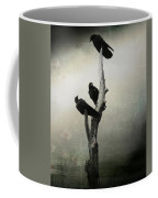 Abstract Crows In A Tree Coffee Mug
