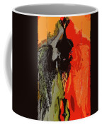 Abstract Dark Angel Coffee Mug