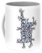 Abstract Design Of Stumps And Bricks #2 Coffee Mug