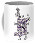 Abstract Design Of Stumps And Bricks #3 Coffee Mug