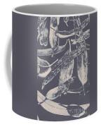 Abstract Design Tree Leaves Background Coffee Mug