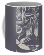 Abstract Design Tree Leaves Background Coffee Mug