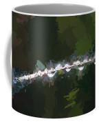 Abstract Dew On Reed Coffee Mug