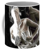 Abstract Digital Artwork Of A Couple Making Love Coffee Mug