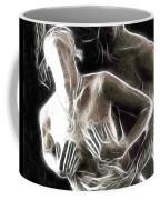 Abstract Digital Artwork Of A Couple Making Love Coffee Mug by Oleksiy Maksymenko