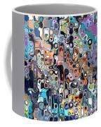 Abstract Digital Doodle 2 Coffee Mug