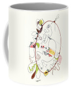 Abstract Drawing Fifty-four Coffee Mug