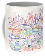 Abstract Drawing Nineteen Coffee Mug
