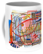 Abstract Drawing Sixty-eight Coffee Mug