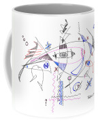 Abstract Drawing Sixty-four Coffee Mug