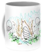 Abstract Drawing Sixty-one Coffee Mug