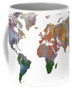 Abstract Earth Art Coffee Mug