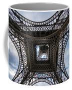 Abstract Eiffel Tower Looking Up Coffee Mug