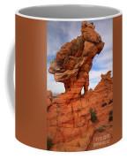 Abstract Erosion Coffee Mug