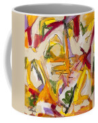 Abstract Expressionism Two Coffee Mug