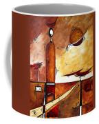 Abstract Figurative Art African Flame By Madart Coffee Mug