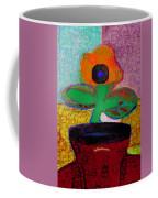 Abstract Floral Art 116 Coffee Mug