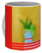 Abstract Floral Art 323 Coffee Mug