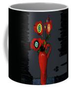 Abstract Floral Art 91 Coffee Mug